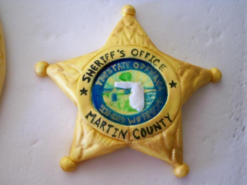 Martin county badge