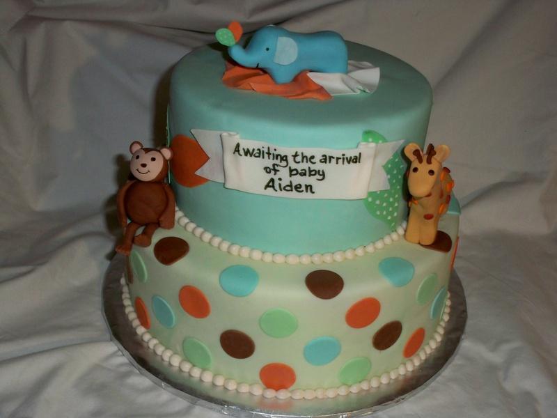Tiddlewinks jungle cake