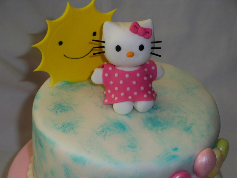 close up of hello kitty